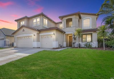 American Canyon, Dixon, Fairfield, Rio Vista, Suisun City, Vacaville, Vallejo, Winters, Davis, Esparto, Woodland, Elk Grove Single Family Home For Sale: 6120 Travo Way
