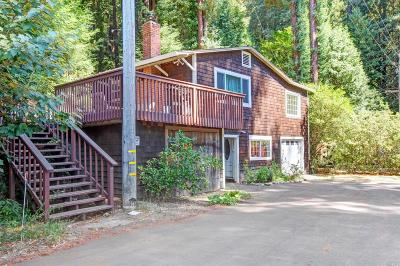 Guerneville Multi Family 2-4 Contingent-Show: 17550 Hwy 116 Highway #A &