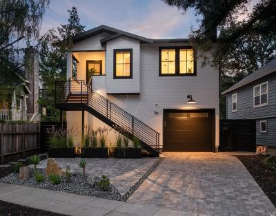 San Anselmo Single Family Home For Sale: 59 Kensington Road