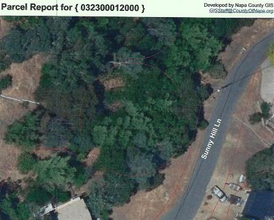 Napa Residential Lots & Land For Sale: Sunnyhill Lane #156