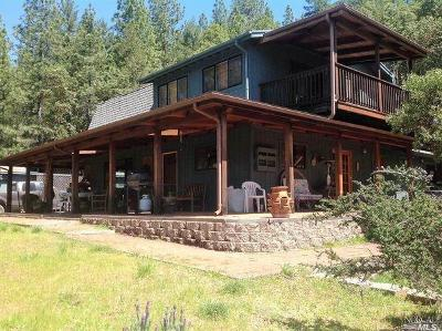 Willits Single Family Home For Sale: 6900 Ridgewood Road