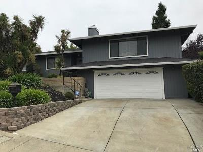 Vallejo Single Family Home For Sale: 293 Skyline Drive