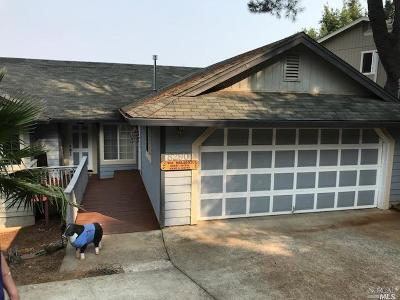 Kelseyville Single Family Home Contingent-Show: 8290 North Heights Drive