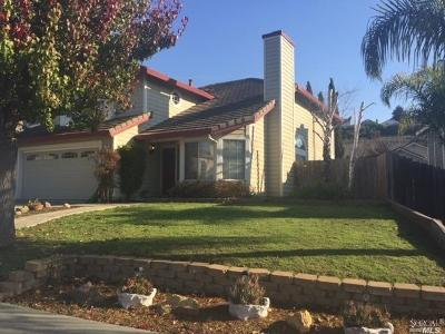 Vallejo Single Family Home For Sale: 162 Humphrey Lane