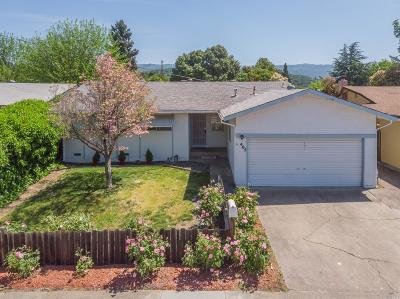Ukiah CA Single Family Home For Sale: $379,000
