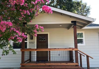 Upper Lake Single Family Home For Sale: 9757 League Street