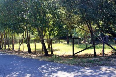 Sonoma County Residential Lots & Land For Sale: 1 Van Keppel Road