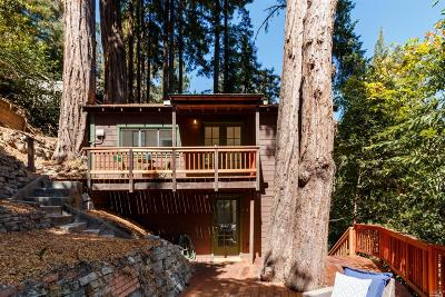Guerneville, Monte Rio, Cazadero, Forestville Single Family Home For Sale: 9062 Middle Terrace