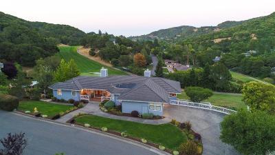 Novato Single Family Home For Sale: 20 Saint Andrews Drive