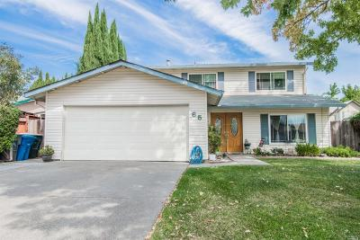 Vacaville CA Single Family Home For Sale: $449,900