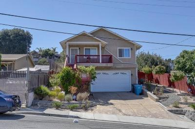 Vallejo CA Single Family Home For Sale: $388,884