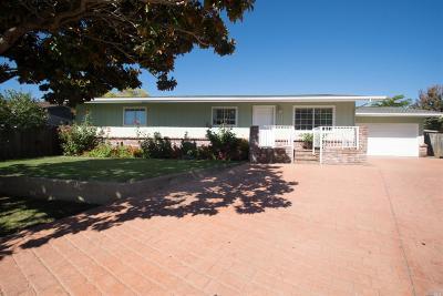 Ukiah CA Single Family Home For Sale: $469,000