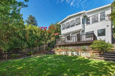 Marin County Single Family Home For Sale: 34 Circle Avenue