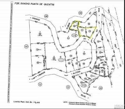 San Rafael Residential Lots & Land For Sale: 4 Altena Street