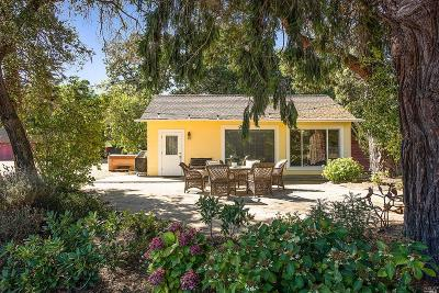 Napa Single Family Home For Sale: 3139 Vichy Avenue