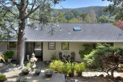 Mill Valley CA Single Family Home For Sale: $1,295,000
