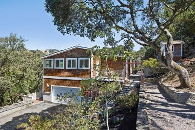 San Anselmo Single Family Home For Sale: 166 Crane Drive