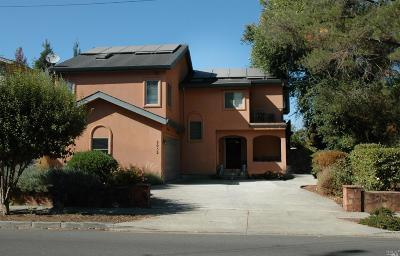 Napa County Single Family Home For Sale: 2052 West Lincoln Avenue