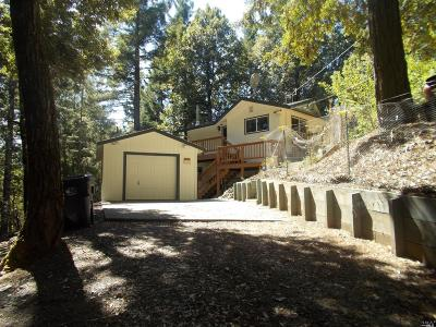 Willits CA Single Family Home For Sale: $289,000
