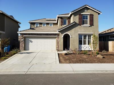 Vacaville CA Single Family Home For Sale: $534,997