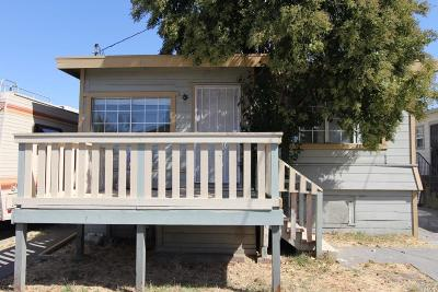 Vallejo Single Family Home For Sale: 226 Contra Costa Street