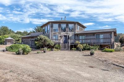 Mendocino Single Family Home For Sale: 8901 Frontage A Road