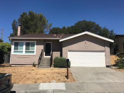 Vallejo Single Family Home For Sale: 279 Woodson Way