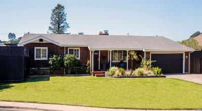 San Rafael Single Family Home For Sale: 20 Rosewood Court
