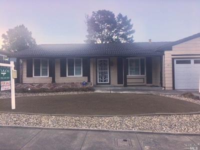 Vallejo Single Family Home For Sale: 151 Primrose Lane