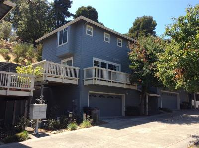 San Rafael Condo/Townhouse For Sale: 157 Woodland Avenue #7
