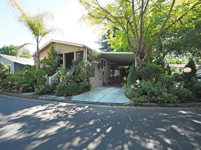 Rohnert Park Mobile Home For Sale: 168 Rancho Verde Circle #168