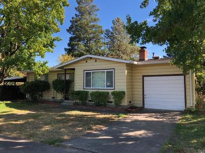 Ukiah CA Single Family Home For Sale: $395,000