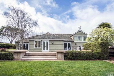 Belvedere Single Family Home For Sale: 70 San Rafael Avenue