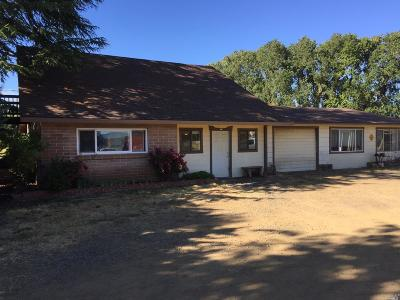 Willits CA Single Family Home For Sale: $549,000