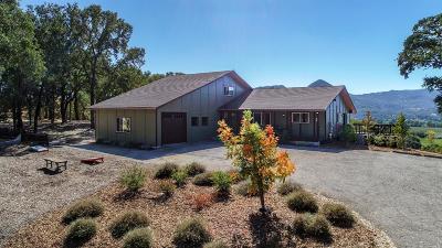 Lake County, Marin County, Mendocino County, Napa County, Solano County, Sonoma County Single Family Home For Sale: 1251 University Road