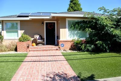 Healdsburg Single Family Home For Sale: 503 Matheson Street
