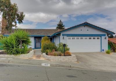 Benicia Single Family Home For Sale: 765 Anita Circle