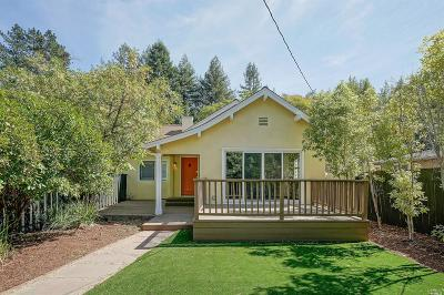 San Anselmo Single Family Home For Sale: 318 Butterfield Road