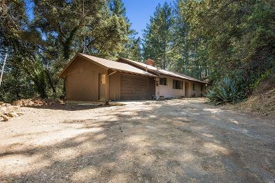 Angwin Single Family Home For Sale: 590 Sunset Drive