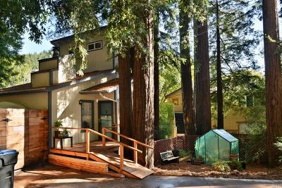 Guerneville CA Single Family Home For Sale: $435,000