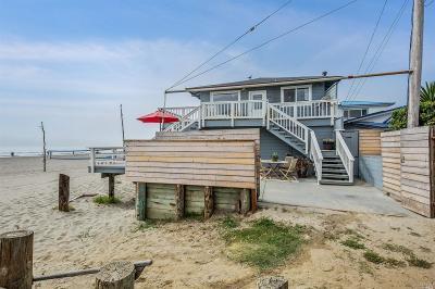 Stinson Beach Single Family Home For Sale: 98 Calle Del Ribera