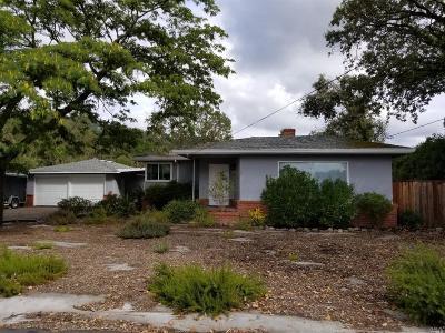 Santa Rosa Single Family Home For Sale: 408 Calistoga Road