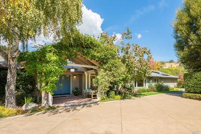 San Rafael Single Family Home For Sale: 175 Montecito Road