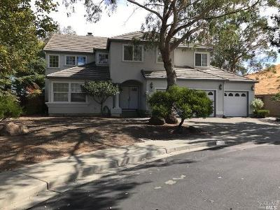 Vacaville Single Family Home For Sale: 1225 Black Oak Court