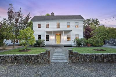 Sonoma County Single Family Home For Sale: 1275 East Macarthur Street