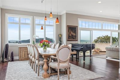 Sausalito CA Single Family Home For Sale: $4,595,000