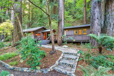 Guerneville, Monte Rio, Cazadero, Forestville Single Family Home For Sale: 15800 East Austin Creek Road