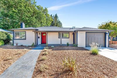 Santa Rosa Single Family Home For Sale: 2502 Claremont Drive