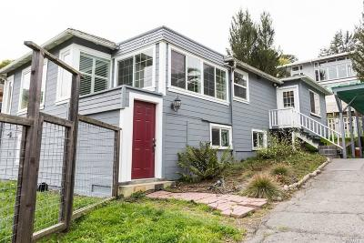 Mill Valley Single Family Home For Sale: 244 Almonte Boulevard