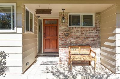 Napa Single Family Home For Sale: 222 Monte Vista Drive